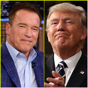 Arnold Schwarzenegger Mocks Donald Trump on Twitter, Keeps Their Feud Going - Watch Now