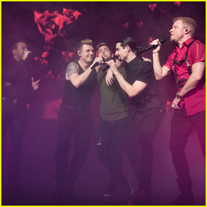 Backstreet Boys Serenade Lance Bass During Las Vegas Show - Watch Now!