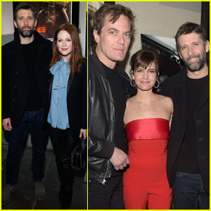 Julianne Moore Supports Husband Bart Freundlich at 'Wolves' Screening