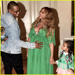 Beyonce & Jay Z Took Blue Ivy to the 'Beauty & The Beast' Premiere!