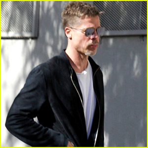 Brad Pitt Appears Slimmed Down in New Photos