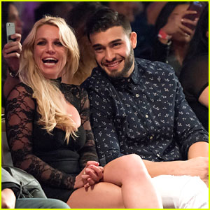 Britney Spears Joins Sam Asghari to Support His Sister at LAFW Fashion Show!