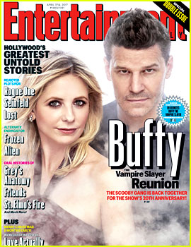 Buffy the Vampire Slayer's Sarah Michelle Gellar & David Boreanaz Reunite for 20th Anniversary!