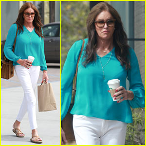 Caitlyn Jenner Grabs Her Morning Coffee in Malibu