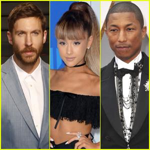 Calvin Harris Set to Release Ariana Grande & Pharrell Williams Collab