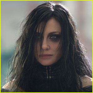 Cate Blanchett is the first female villain (Hela: Goddess of Death) in ...
