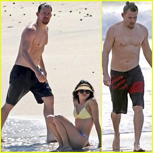 Channing Tatum & Jenna Dewan Look So Hot in These Beach Photos!
