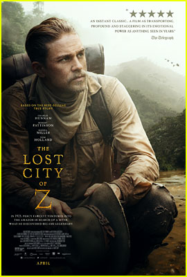 Charlie Hunnam Takes a Knee on New 'Lost City of Z' Poster