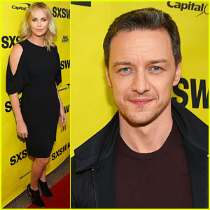 Charlize Theron & James McAvoy Bring 'Atomic Blonde' to SXSW