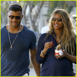 Ciara & Russell Wilson Step Out After Her Car Accident