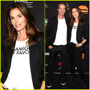 Cindy Crawford & Rande Garber Say George Clooney Will 'Be an Amazing Dad'
