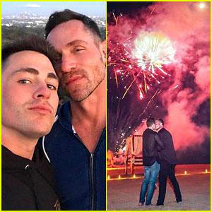 Colton Haynes & Boyfriend Jeff Leatham Are Engaged!