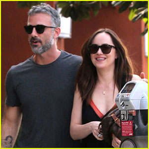 Dakota Johnson Is All Smiles Alongside Her Personal Trainer