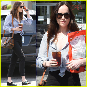 Dakota Johnson Stays Stylish While Running Errands in LA
