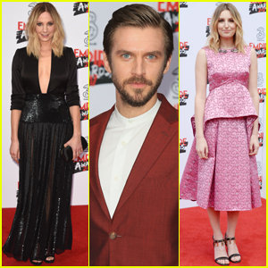 Dan Stevens Reunites With 'Downton Abbey' Co-Stars Joanne Froggatt & Laura Carmichael