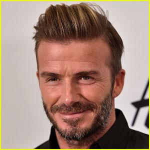 David Beckham Has a Big Face Scar for 'King Arthur' Cameo!