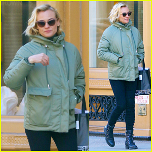 Diane Kruger Steps Out for Day of Shopping in NYC