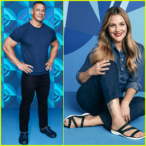 Drew Barrymore & John Cena Star in Crocs' 'Come As You Are' Campaign!