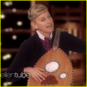 Ellen DeGeneres Inserts Herself Into 'The Voice' Jam Session (Video)