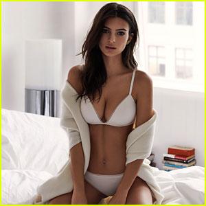Emily Ratajkowski Does a Sexy Photo Shoot for DKNY's Intimates Campaign!