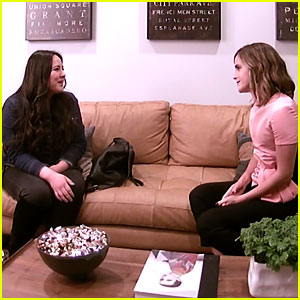 Emma Watson Hilariously Interviews a Nanny for Herself for Ellen's Hidden Camera Prank! (Video)
