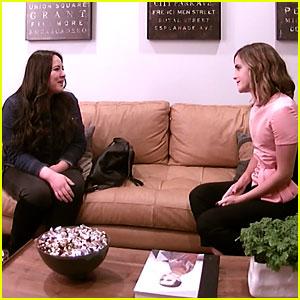 Emma Watson Hilariously Interviews a Nanny for Herself for Ellen's Hidden Camera Prank! (Video)