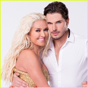 'Real Housewife' Erika Jayne & Gleb Savchenko Find Balance With Foxtrot on 'DWTS'