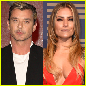 Gavin Rossdale Shows Some PDA With Model Sophia Thomalla