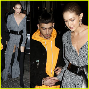 Gigi Hadid is Shooting Zayn Malik's 'Versus Versace' Campaign (Video)
