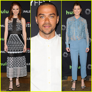 Sarah Drew & Jesse Williams Bring 'Grey's Anatomy' to PaleyFest 2017 After Big #Japril Episode