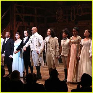 'Hamilton' Cast Members Celebrate International Women's Day in a Big Way