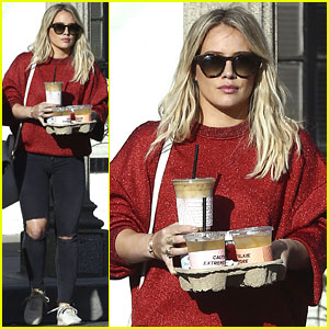 Hilary Duff Signs Herself Up for Some Very Intense Coffee