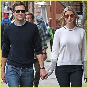 Ivanka Trump & Jared Kushner Take Their Family Skiing!