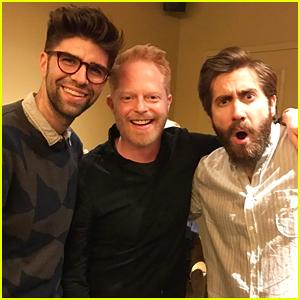 Jake Gyllenhaal Hangs Out with Jesse Tyler Ferguson & Husband Justin Mikita!