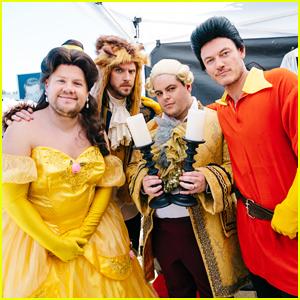 James Corden, Dan Stevens, Luke Evans, & Josh Gad Perform Crosswalk Version Of 'Beauty & The Beast' - WATCH!