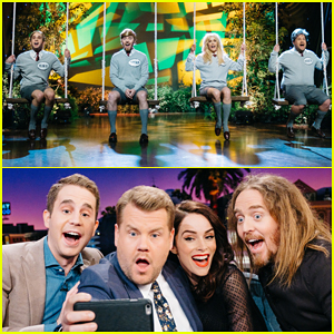 James Corden Debuts 'Donald: The Musical' With Ben Platt & Abigail Spencer - Watch Here!