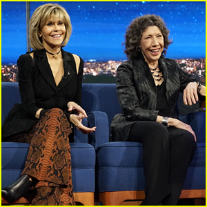 Jane Fonda & Lily Tomlin Pitch New Business Model For Donald Trump On 'The Late Show'!