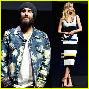 Jared Leto Looks Scruffy While Promoting 'Blade Runner 2049' at CinemaCon 2017