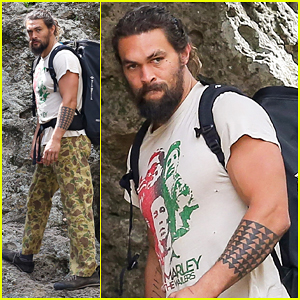 Jason Momoa Spends Weekend Rock Climbing With His Kids & Chris Sharma!
