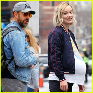 Jason Sudeikis Visits Olivia Wilde on Set of 'Life Itself' in NYC!