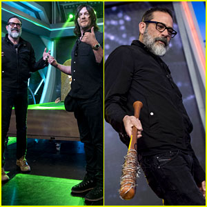 Jeffrey Dean Morgan Brings Negan's Bat to Spain!
