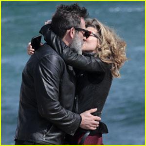 Jeffrey Dean Morgan & Hilarie Burton Share a Passionate Kiss