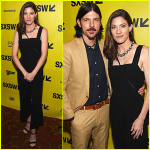 Jennifer Carpenter Supports Husband Seth Avett at the Premiere of 'May It Last: A Portrait of the Avett Brothers'