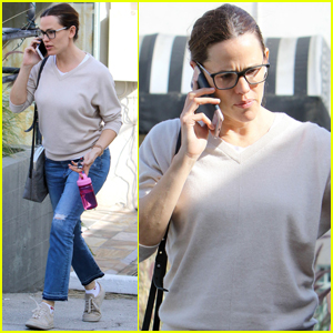 Jennifer Garner Gets Back to Mom Duties After Filming in Atlanta