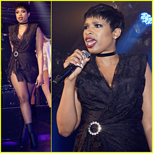 Jennifer Hudson Recieves Nothing But Love At G-A-Y Night Club!