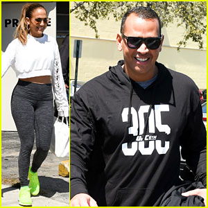 Jennifer Lopez & Alex Rodriguez Are Keeping Their Bodies in Shape Together!