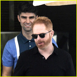 Jesse Tyler Ferguson & Husband Justin Mikita Enjoy Some R&R in Spain