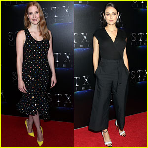 Jessica Chastain & Mila Kunis Get a Head Start at Promoting New Projects at CinemaCon 2017!
