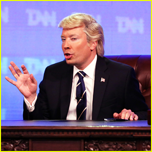 Jimmy Fallon Brings Back Donald Trump News Network To Report On U.S. Congress Adress - Watch Here!