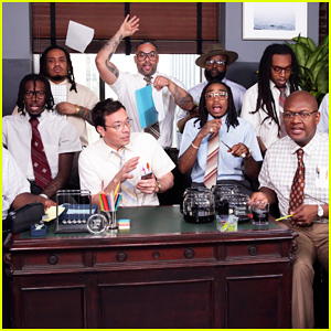 Jimmy Fallon, Migos & The Roots Perform 'Bad and Boujee' Using Office Supplies - Watch Here!
